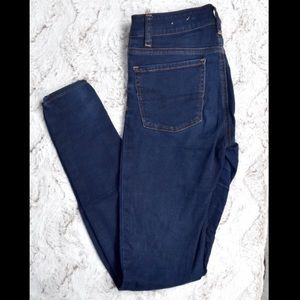 Blue AEO Jeggings